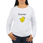Runner Chick Women's Long Sleeve T-Shirt