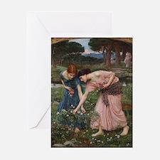 Gather Ye Rosebuds While Ye M Greeting Card