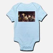 Hylas and the Nymphs Infant Bodysuit