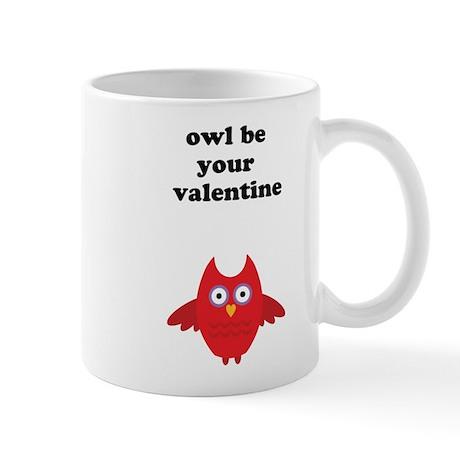 Owl be your valentine Mug
