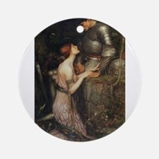 Lamia Ornament (Round)