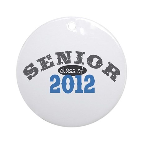 Senior Class of 2012 Ornament (Round)