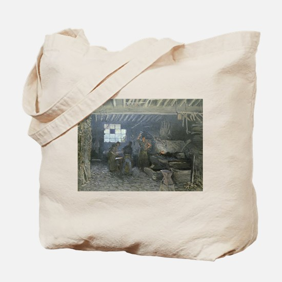 Cute Forging Tote Bag