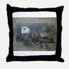 Cute Interiors Throw Pillow