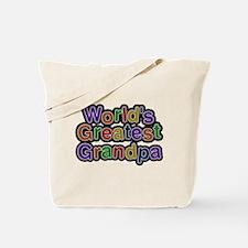 Worlds Greatest Grandpa Tote Bag