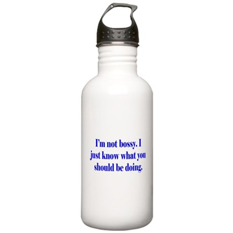 Not Bossy Stainless Water Bottle 1.0L