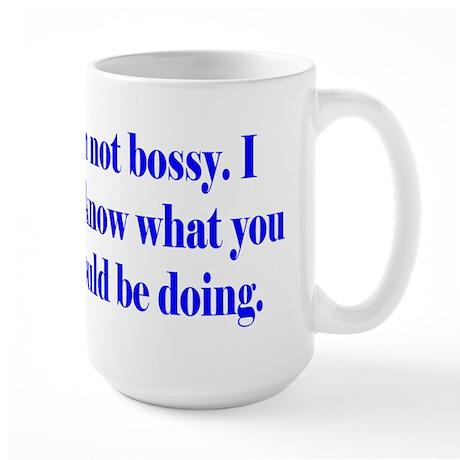 Not Bossy Large Mug