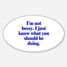 Not Bossy Decal