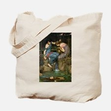 Nymphs Finding the Head of Or Tote Bag