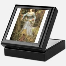 Ophelia (1905) Keepsake Box