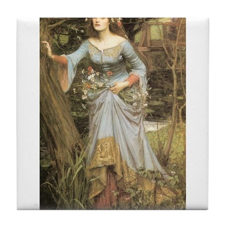Ophelia (1905) Tile Coaster