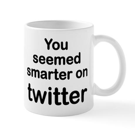 Smarter on Twitter Mug