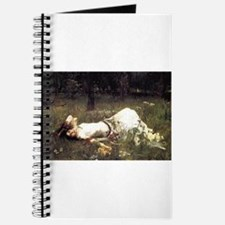 Ophelia Lying in the Meadow Journal