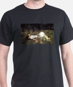 Ophelia Lying in the Meadow T-Shirt