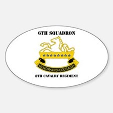 DUI - 6th Sqdrn - 8th Cavalry Regt with Text Stick