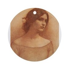 Study for the Lady Claire Ornament (Round)