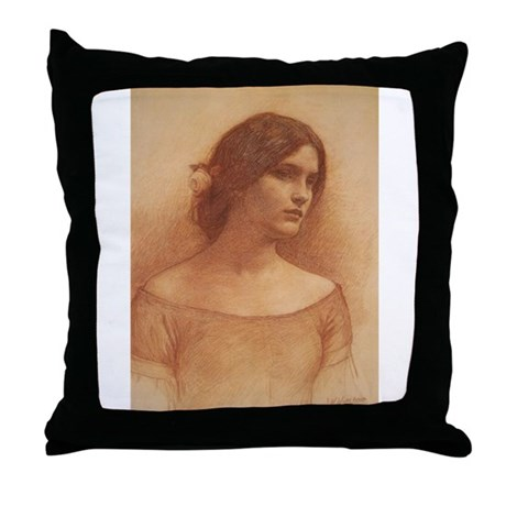 Study for the Lady Claire Throw Pillow
