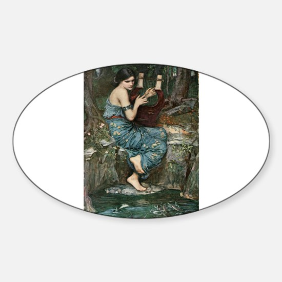 The Charmer Sticker (Oval)