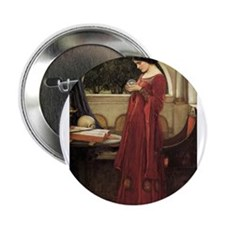 "The Crystal Ball 2.25"" Button"