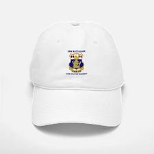 DUI - 3rd Bn - 15th Infantry Regt with Text Baseball Baseball Cap