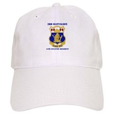 DUI - 3rd Bn - 15th Infantry Regt with Text Baseball Cap