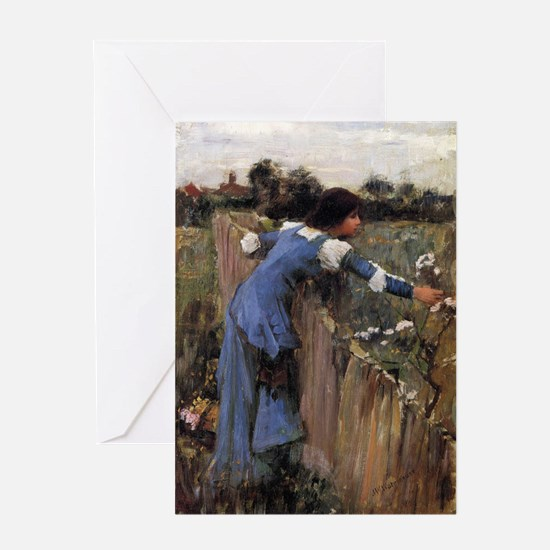 The Flower Picker Greeting Card