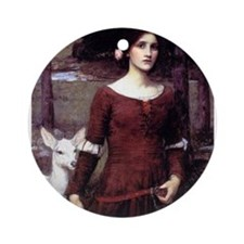 The Lady Claire Ornament (Round)