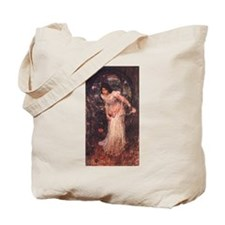 The Lady of Shalott Looking a Tote Bag