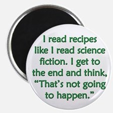 Science Fiction Recipes Magnet