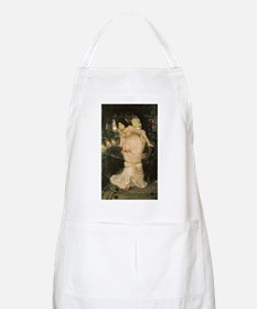 The Lady of Shalott Looking a Apron