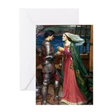 Trsitan and Isolde Greeting Card