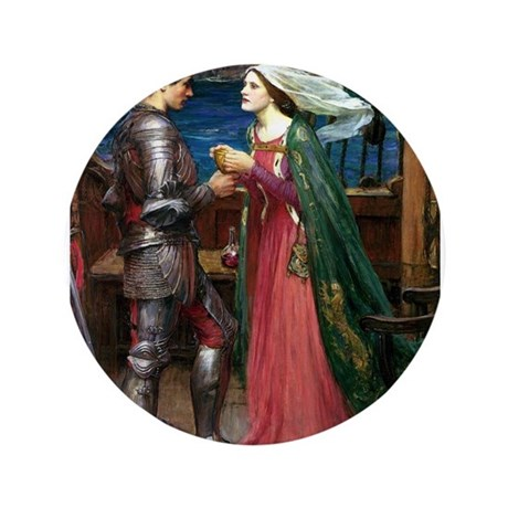 """Trsitan and Isolde 3.5"""" Button (100 pack)"""
