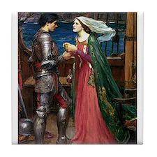 Trsitan and Isolde Tile Coaster