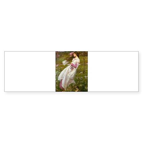 Windflowers Sticker (Bumper)