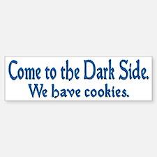 Come to the Dark Side Bumper Bumper Sticker
