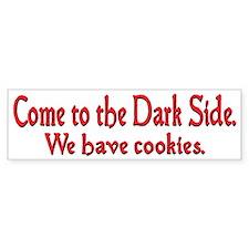 Come to the Dark Side Car Sticker