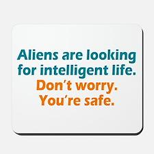 Aliens Looking Mousepad
