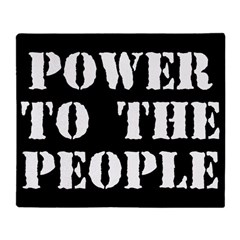 Power to the People Throw Blanket