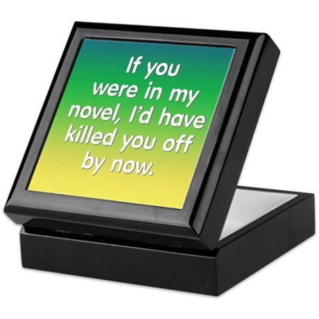 In My Novel - Writer Keepsake Box