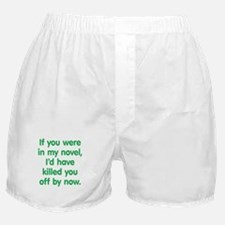 In My Novel - Writer Boxer Shorts