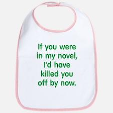 In My Novel - Writer Bib