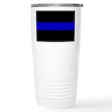 The Thin Blue Line Thermos Mug
