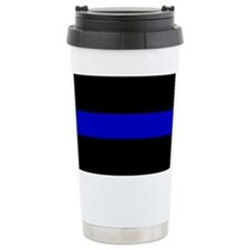 The Thin Blue Line Travel Mug