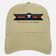 Thank You Troops Baseball Baseball Cap