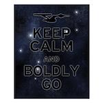 Star Trek Boldly Go Small Poster