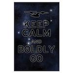 Star Trek Boldly Go Large Poster