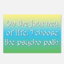 Psycho Journey of Life Postcards (Package of 8)