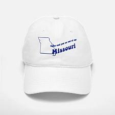 Vintage Missouri Baseball Baseball Cap