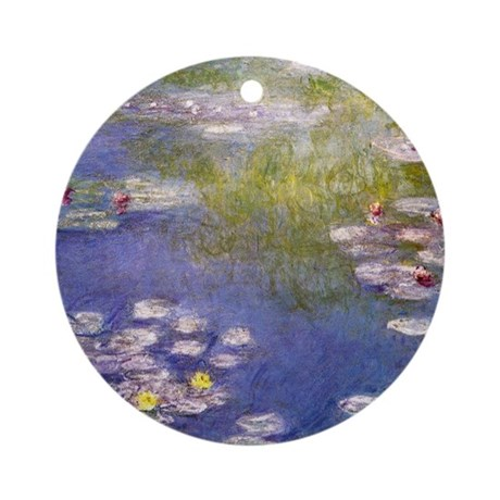Nympheas at Giverny Ornament (Round)