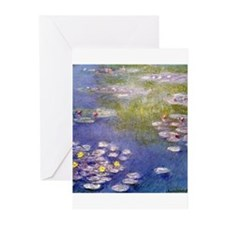 Nympheas at Giverny Greeting Cards (Pk of 20)